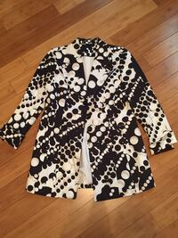 LeChateau black white and beige spring jacket Calgary, T3J 4R1