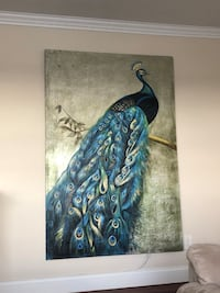 Peacock painting - price negotiable Wantagh, 11793