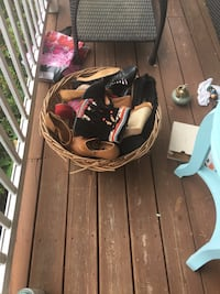 Bundle of shoes mostly size 9 and 10 women's  Glen Allen, 23060