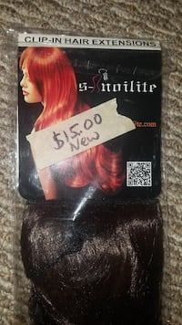 clip in hair extensions Brand new never used Underwood, 58576