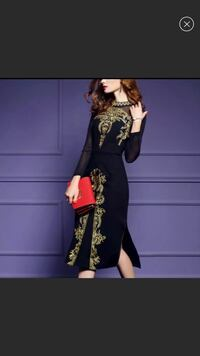 Gold Embroidered Dress-NEW Falls Church, 22046