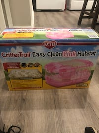 Pink hamster/gerbil/mouse habitat-cage  Fairfax, 22032