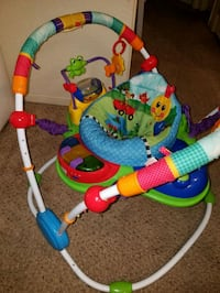 baby's multicolored jumperoo Round Rock, 78664