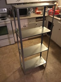 Aluminum  shelving dusty but clean  Langley, V3A 1M4