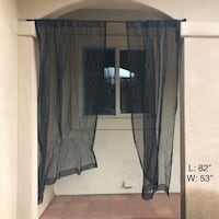 Two Panel Sheer Curtain Temecula, 92590