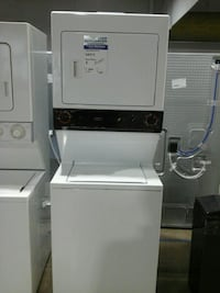 General Electric washer dryer stack tested 27in  Englewood, 80110
