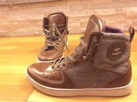 creative recreations mens sneakers size 10 brown Salem, 01970