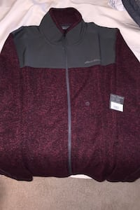 Eddie Bauer Full ZIP Royal Plum  Oakton, 22124