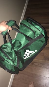 green and black Adidas duffel bag Ottawa, K1J 7N4