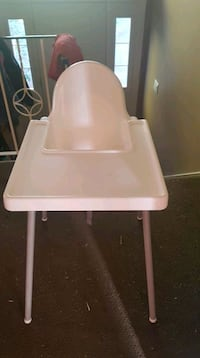 white and pink high chair Langley, V3A 1N5