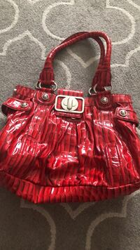 Red Guess Bag Pickering