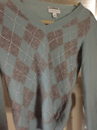 2 ply Cashmere sweater. Brand new!! Designer  Brentwood, 94513
