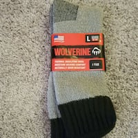 Wolverine men's thermal insulating over thr calf wool socks Gresham, 97030