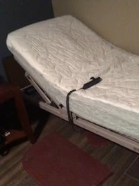 white and gray wooden bed frame 2259 mi