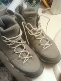 pair of gray Nike basketball shoes Richmond, 23223