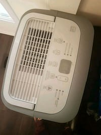 white and gray portable Dehumidifier  Brampton, L6S 1Y4