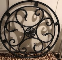 Wall hanging - medallion - faux iron Coconut Creek