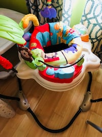 baby's white and blue jumperoo Falls Church, 22042