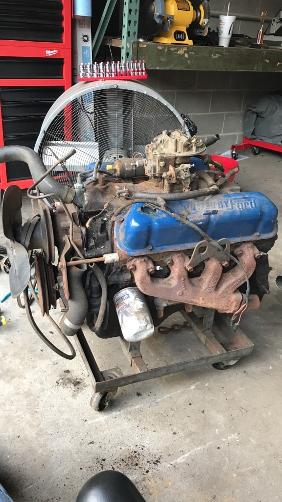 used mexico small block d1zm sbf ford 302 5 0 engine motor for sale rh us letgo com