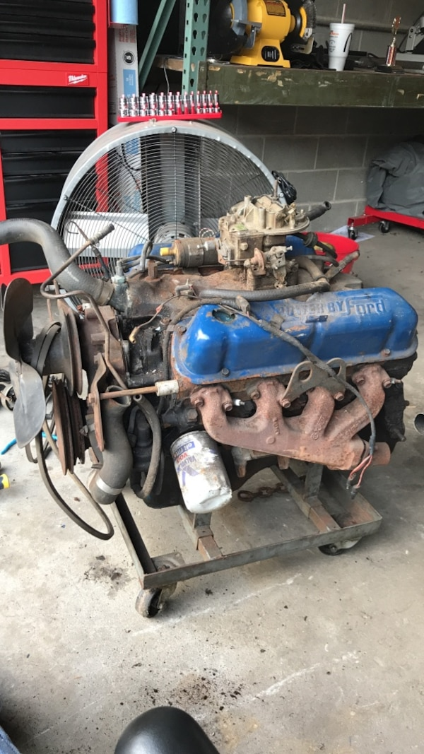 Mexico Small Block D1ZM SBF Ford 302 5 0 engine motor