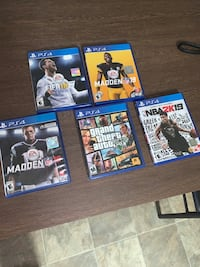 PS4 games Charlotte, 28212