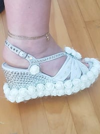 HAND MADE WEDDING SHOES SIZE 8 Montreal