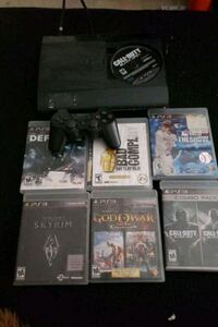 Ps3 slim, 7 games 1 controller and wires. Good con Rockville, 20850