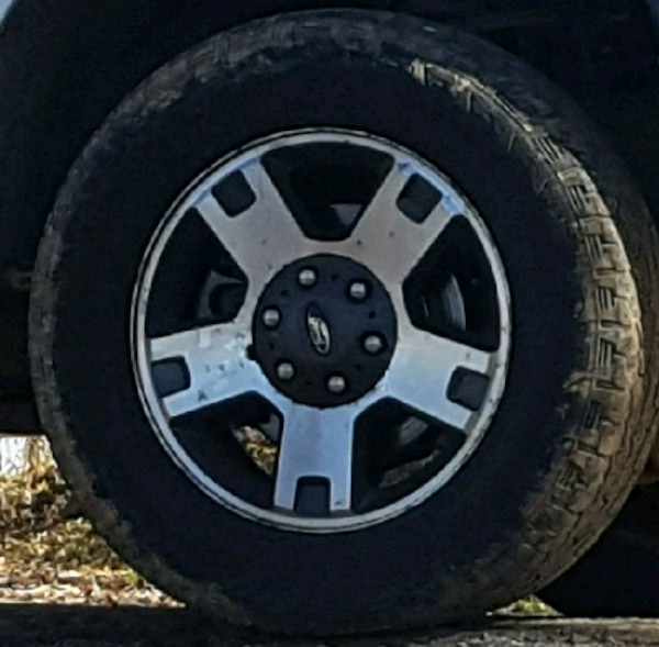 Ford F150 Wheels >> Factory Ford F150 Wheels And Tires
