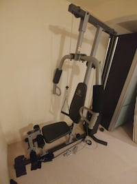 grey and black exercise equipment Calgary, T2Y 2M2