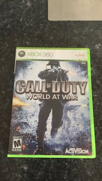 Call of Duty World at War Xbox 360 game case Loyalist, K0H 2H0