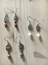 Earrings set of 3 for $10
