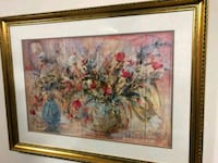 red and white flowers painting Gaithersburg, 20878