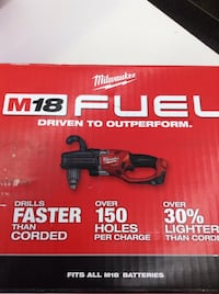 "MILWAUKEE 2707-20 HOLE HAWG 1/2"" RIGHT ANGLE DRILL TOOL ONLY (NO TRADES) Aurora, 80010"