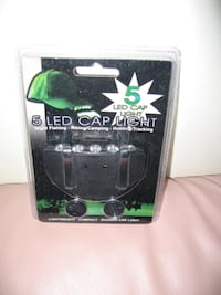 5 LED CAP LIGHT - LIGHT WEIGHT