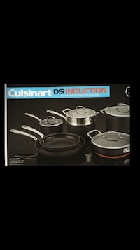 Cuisinart 11 pc   DS induction cookware