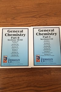 General Chemistry study book set Fairfax, 22033