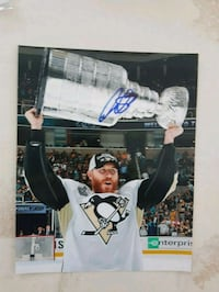Ian Cole Autographed 8x10 Photo  Edmonton, T6L 2K3