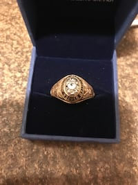 Army Ring. 10kt with diamond chips Kissimmee