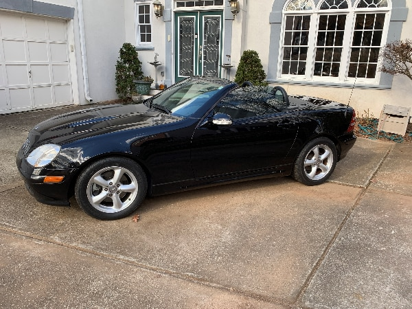Used Mint Low Miles 2004 Mercedes Slk 320 Hardtop Convertible For In Lawrenceville Letgo