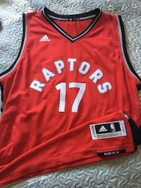 red and black Adidas NBA jersey Oshawa, L1K