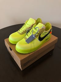 Off White Air Force 1 Volt Los Angeles, 90007