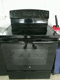 black 4-burner induction range oven White Plains, 20695