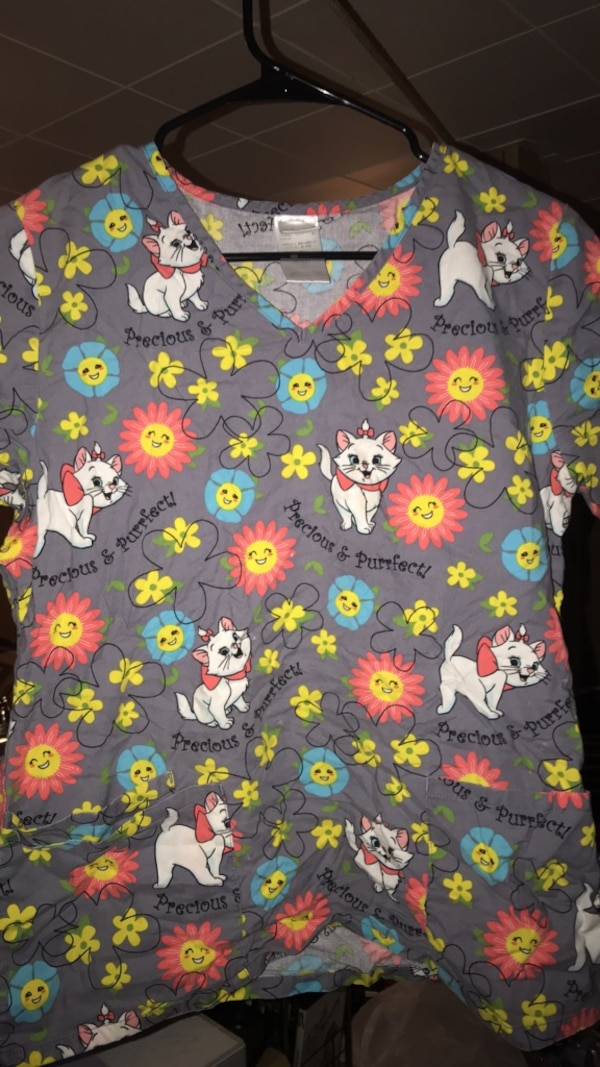 1602856858d Used Marie cat scrub top for sale in Chicago - letgo