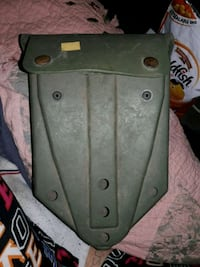 military fold up shovel carry case
