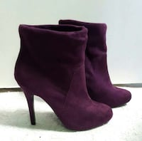 Purple Ankle Booties Brampton, L6Y