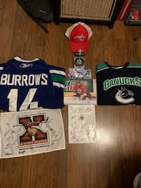 Canucks/NHL memorabilia (Cheap)
