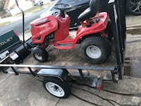 "5x8 trailer plus a tractor with a 46 "" snow plow on it a great money maker  Dumfries, 22025"
