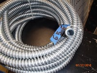 65' Feet of Flexible Steel Electrical Conduit-$50 45 km