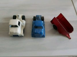 tootsietoy 1950 truck and trailer