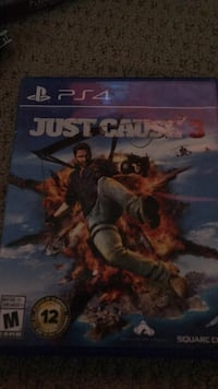 Just Cause 3 PS4 game case Sherwood Park, T8H 2K4